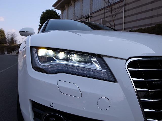 アウディ「A7 Sportback」 LEDヘッドランプ。