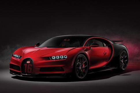 ブガッティは、世界最速を誇るスーパースポーツカー「シロン」のスポーツ・バージョン「シロン・スポーツ」をスイス ジュネーブで発表した。